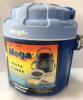 Изотермический контейнер для еды Mega 2,6 л синий, фото 1