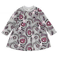 Платье для девочки 16-12 д\р узор тёплое