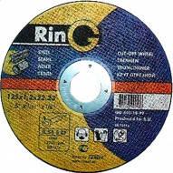 Диск шлифовальный по металлу RinG 125х6х22