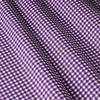 Ткань в клетку фиолетовый