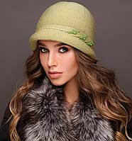 """Шляпа """"Монро"""" цвет трава"""