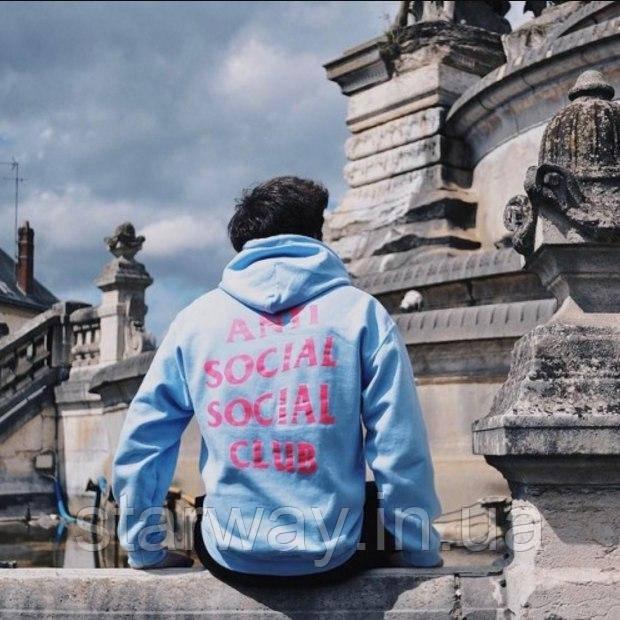 Толстовка | A.S.S.C. Anti social social club 2AM Hoodie