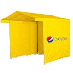 Палатка с логотипом для промоакций. Рекламные палатки.