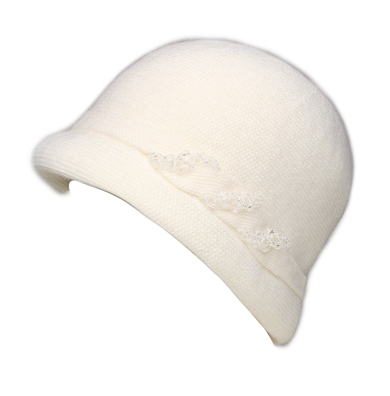 """Шляпа """"Монро"""" цвет белый"""