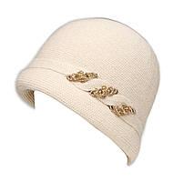 """Шляпа """"Монро"""" цвет бежевый"""