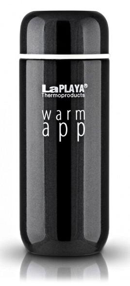 Термокружка LaPlaya Warm App 0.2 л черная