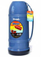 Термос Mega ET190, 1.9 л, синий