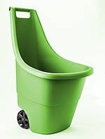 Тележка садовая Keter Easy Go Breeze 50 л зеленая