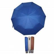Зонт женский п/автомат. цветной однотонный