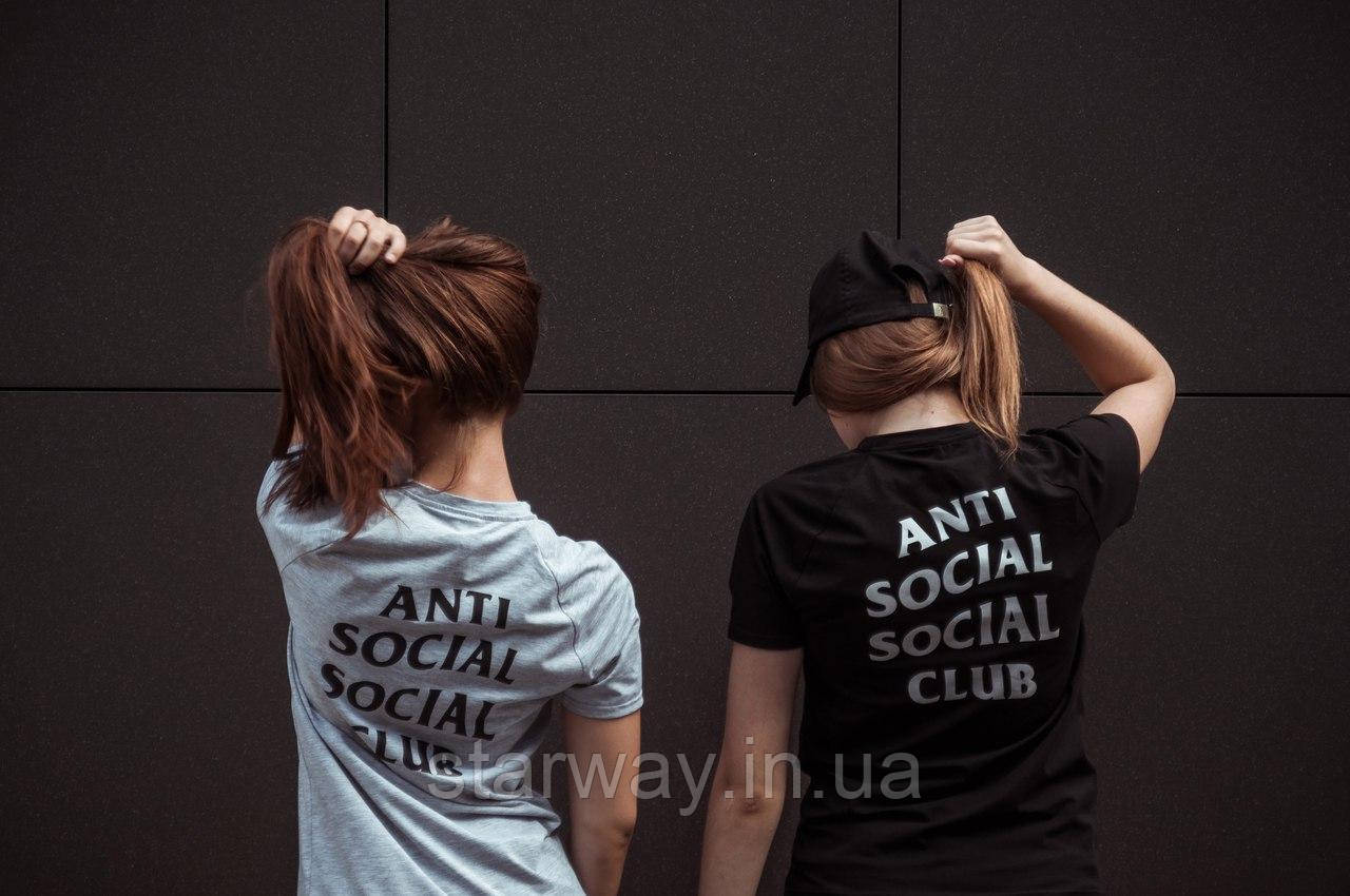 Футболка Anti Social Social club logo top