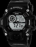 Спортивные водостойкие часы Skmei 1019 черный, фото 1