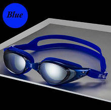 Очки для плавания профессиональные синего цвета