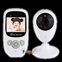 Цифровая беспроводная видеоняня SP880 с датчиком температуры, и ночной подсветкой, фото 1
