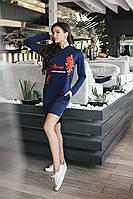 Модное платье спортивного стиля 3559