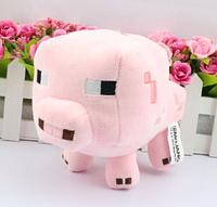 Мягкая игрушка Свинка из игры Minecraft Майнкрафт
