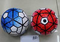 Мяч футбольный BT-FB-0142 PVC размер 2 100г 4цв.ш.к./200/