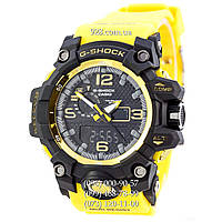 Спортивные часы Casio G-Shock GWG-1000 Black-Yellow Wristband (кварцевые)