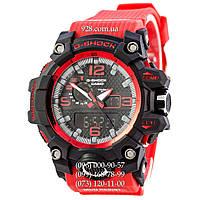 Спортивные часы Casio G-Shock GWG-1000 Black-Red Wristband (кварцевые)