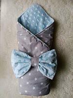 Конверт-одеяло для новорожденного Звездочки