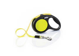Flexi Neon XS стрічка 3 м до 12 кг повідець-рулетка для собак