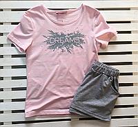 """Женская пижама футболка и шорты """"Ellen"""" размер S"""