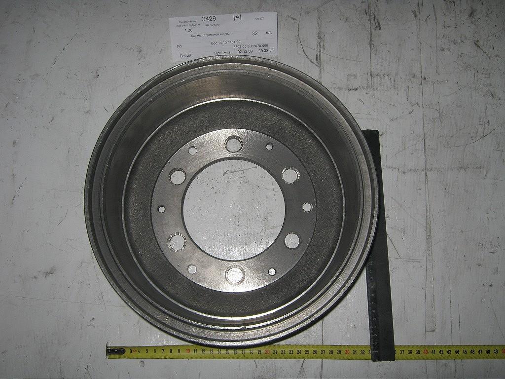 Тормозной барабан газель 3302 3302-3502070