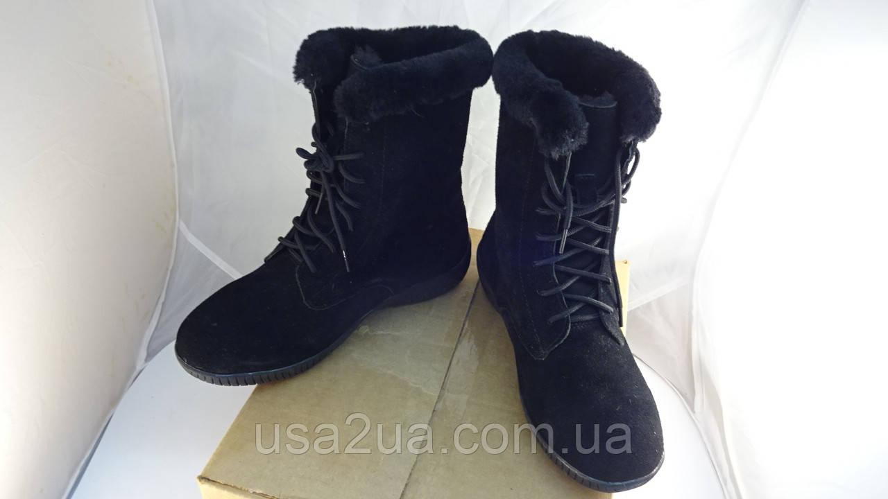 Из США! Ботинки Style & Co Tanya натуральная замша