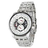 Спортивные часы Casio Edifice 8218 Silver-White (кварцевые)