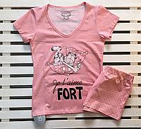 Пижама женская с шортами EGO размер S,M,L,XL