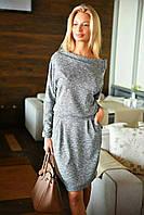 Женское платье трикотаж косичка 314 МВ