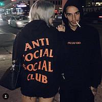 Толстовка с принтом assc paranoid   худи Anti Social social club