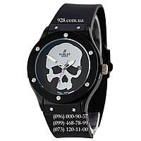 Классические часы Hublot Classic Fusion Skull Quartz Black-Silver (кварцевые)