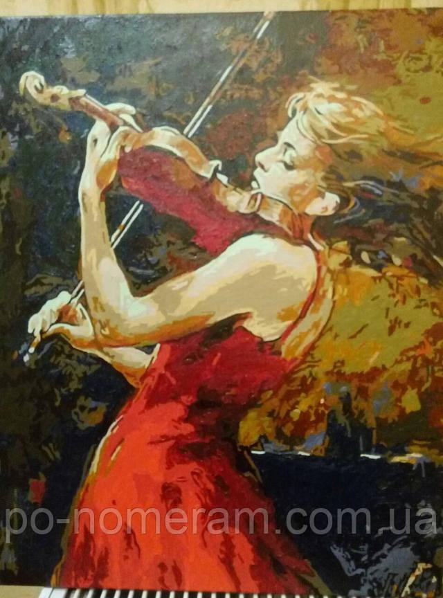 Картина по номерам Mariposa Музыка огня MR-Q683