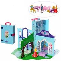 Набор принцессы Замок Frozen в книге-чемодане