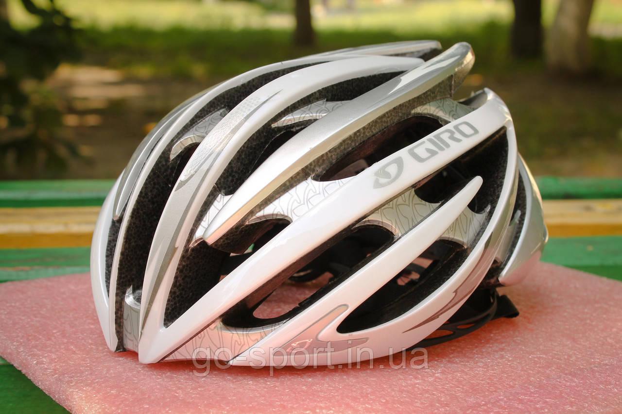 Велосипедный шлем Giro Aeon серый