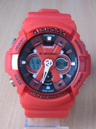Часы Сasio g shock. Часы G-Shock . Часы G-Shock  красного цвета. Стильные часы.