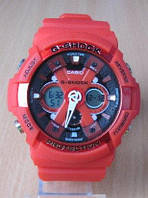 Часы Сasio g shock. Часы G-Shock . Часы G-Shock  красного цвета. Стильные часы., фото 1