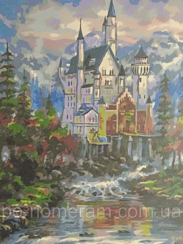 Картина по номерам Mariposa Замок Нойшванштайн