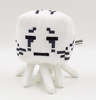 Мягкая игрушка Гаст Серый из игры Minecraft Майнкрафт