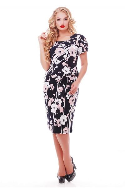 Молодежные платья больших размеров 50-62 размера