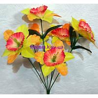 Искусственные цветы Нарцисс 6-ка