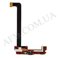 Шлейф (Flat cable) Xiaomi Mi2A с разъемом зарядки и микрофоном