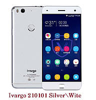 "IVARGO V210101 Silver 3Gb RAM \ 32 ГБ ROM Snapdragon 615 Octa Ядро 5.0"" 1920x1080 NFC отпечаток пальца 4G"