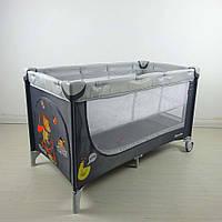Детский манеж-кровать Carrello Piccolo+ CRL-9201 со вторым уровнем