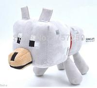 Мягкая игрушка Волк из игры Minecraft Майнкрафт