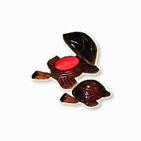 Черепахи из дерева