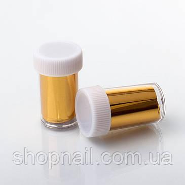 Фольга для литья в баночке, золото, фото 2