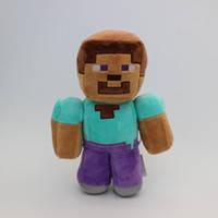 Мягкая игрушка Стив из игры Minecraft Майнкрафт