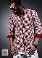 Рубашка мужская с длинным рукавом стретчевая, S-XXXL размер, фото 1