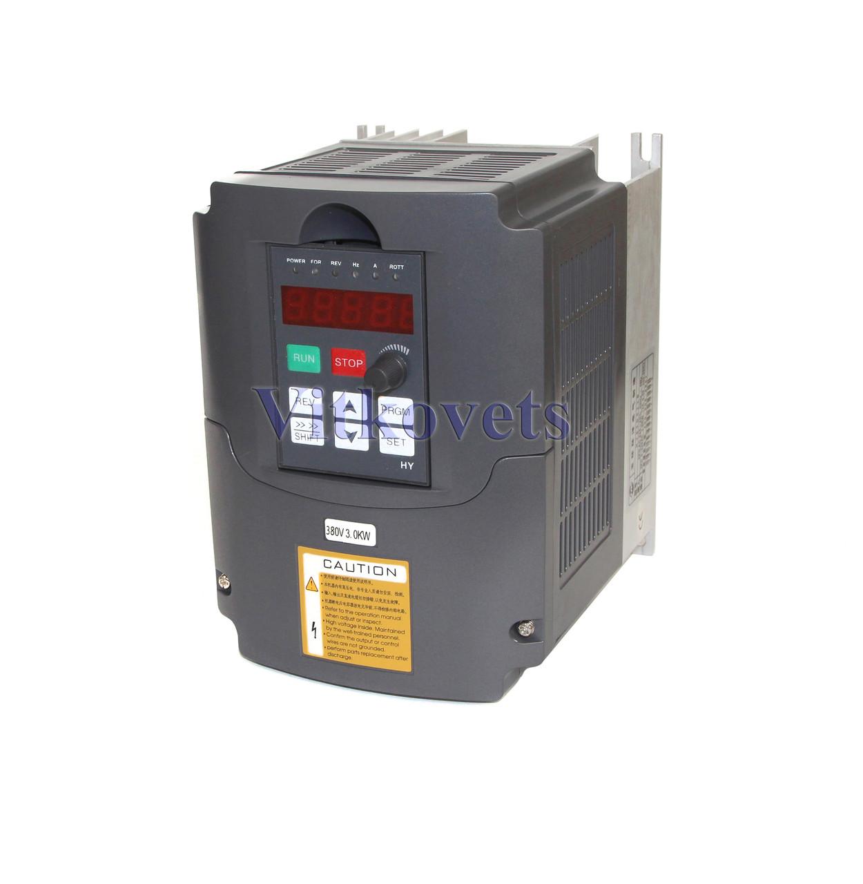 Инвертер (VFD) HY03D043B, 3KW 8А 380V три фазы